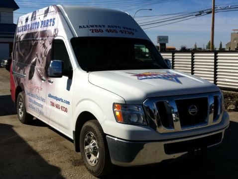 Our new delivery van, Nissan NV2500